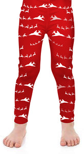B-1 Santa Kids Leggings