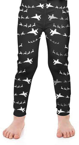 Fighter 1 Santa Kids Leggings