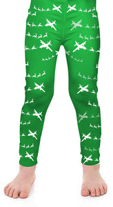C-130 Santa Kids Leggings