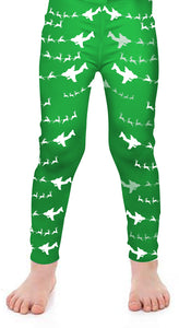 C-17 Santa Kids Leggings