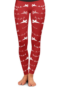 Fighter 1 Santa Leggings