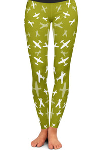 P-51 Silhouette Yoga Leggings