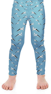 T-38 Detailed Kids Leggings