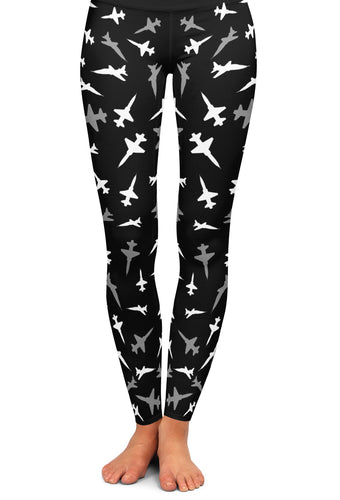 T-38 Silhouette Yoga Leggings