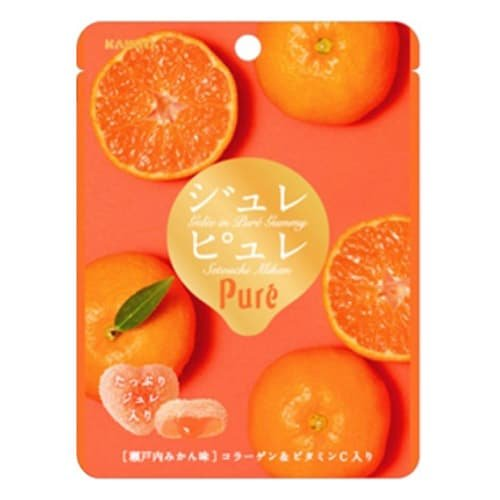 Puré Jelly Gummy - Iyokan Tangerine - 99Japan