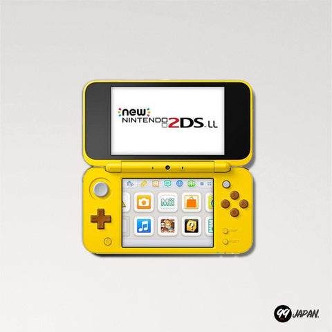 New Nintendo 2DS LL - Pikachu Edition (rare article) - 99Japan