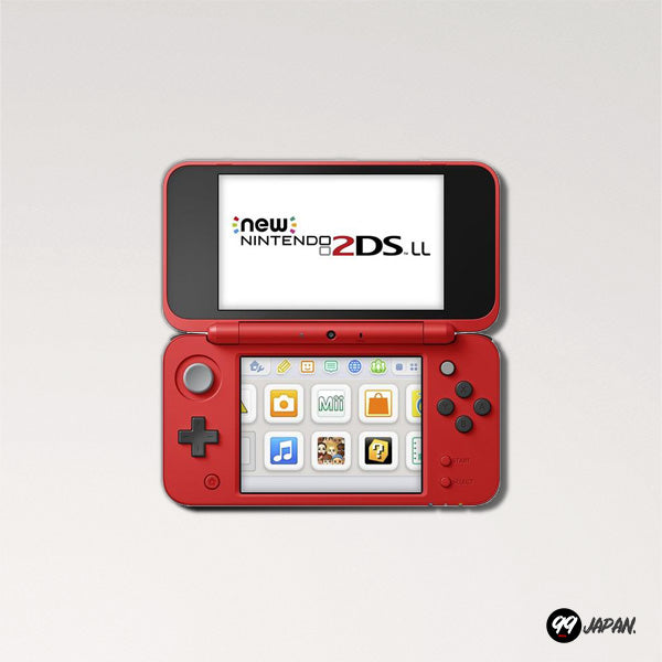 New Nintendo 2DS LL - Pokemon Edition - 99Japan
