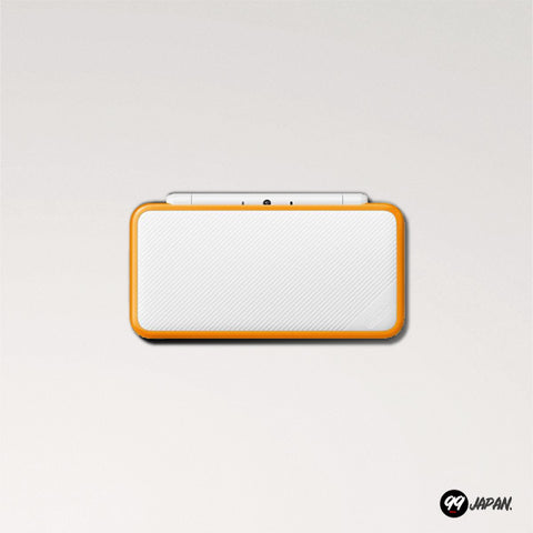 New Nintendo 2DS LL - White × Orange - 99Japan