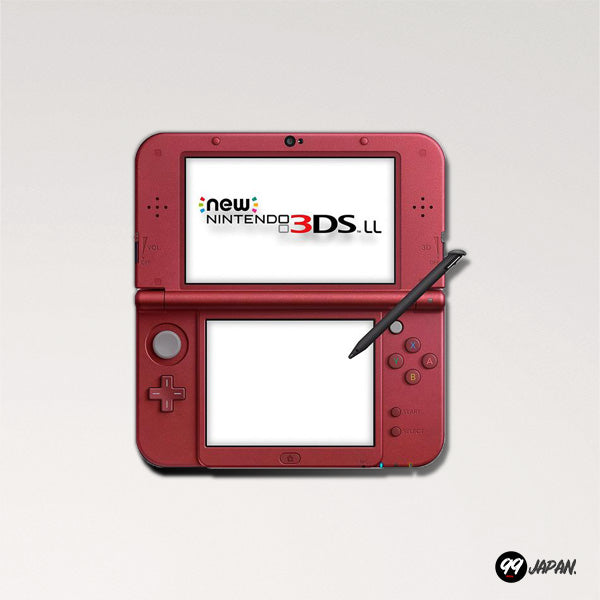 New Nintendo 3DS LL - Metallic Red - 99Japan