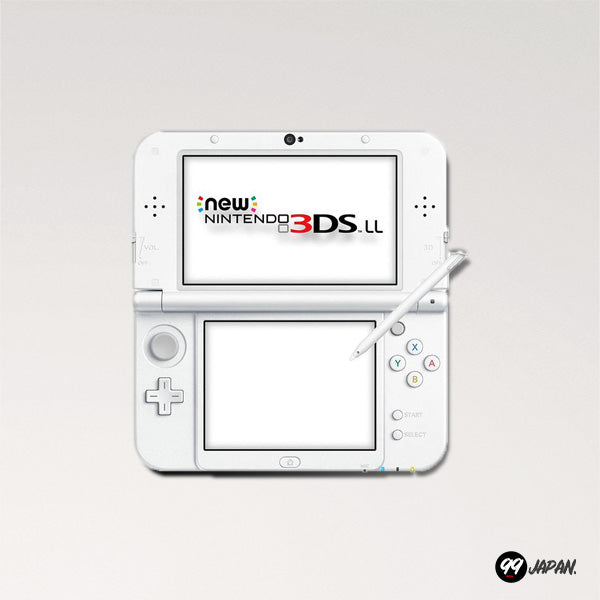 New Nintendo 3DS LL - Pearl White - 99Japan