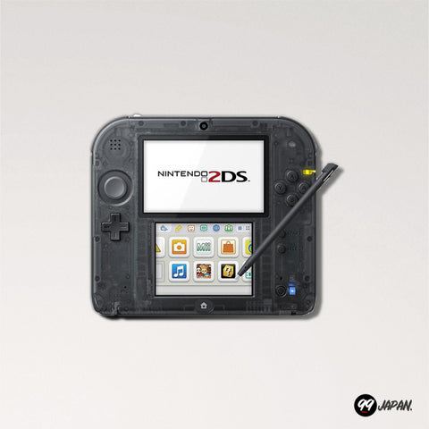 Nintendo 2DS - Clear Black - 99Japan