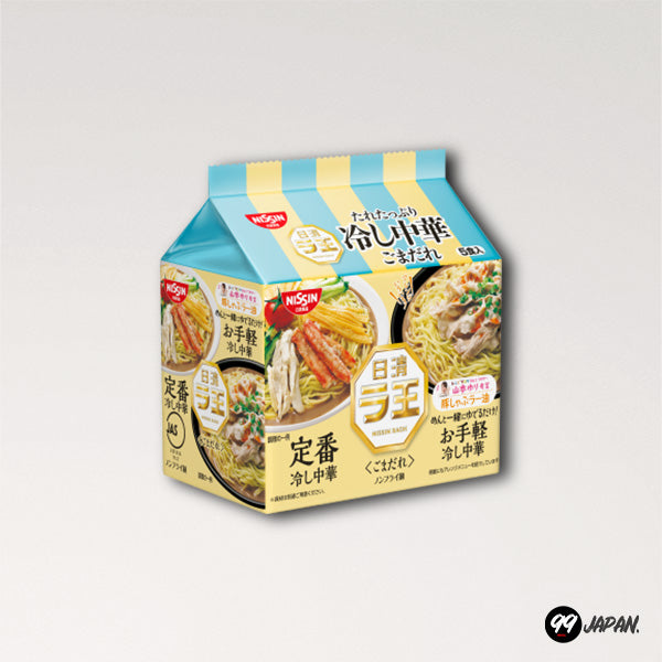 Nissin Raoh Ramen - Hiyashi Chuka 5 Packs - 99Japan