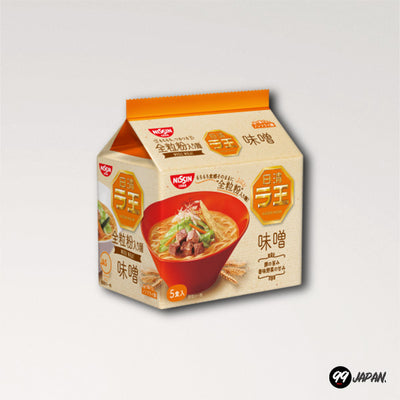 Nissin Raoh Ramen - Miso Ramen 5 Packs - 99Japan