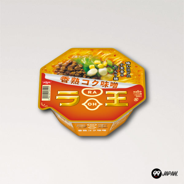 Nissin Raoh Ramen - Spicy Intense Miso Bowl - 99Japan