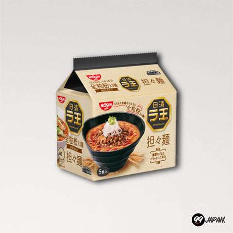 Nissin Raoh Ramen - Spicy Tantanmen Noodles 5 Packs - 99Japan