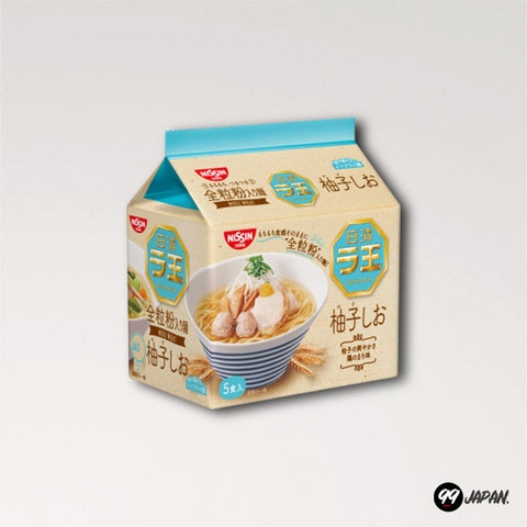Nissin Raoh Ramen - Yuzu salty ramen 5 Packs - 99Japan