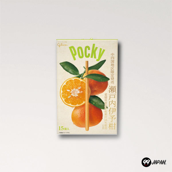 Pocky - Ehime Limited Iyokan Orange - 99Japan