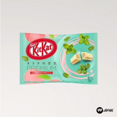 Kit Kat Mini Premium Peach Mint
