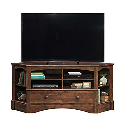 Sauder Harbor View Corner Tv Stand In Antiqued Paint Vcoinmall