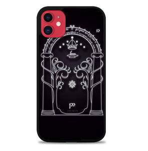 Magic Gate Of Moria Lord Of The Ring The Hobbit F0201 iPhone 11 Pro Max Case