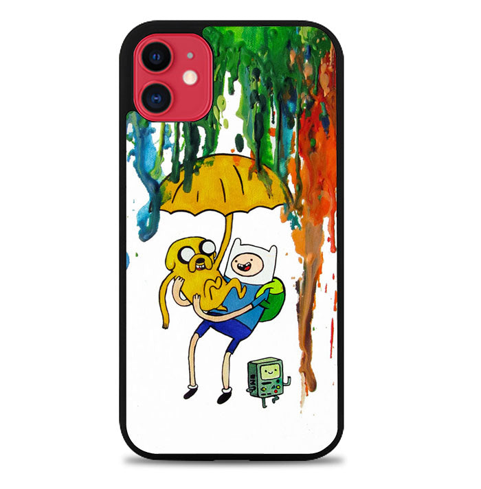 Adventure Time Painting F0254 iPhone 11 Pro Max Case