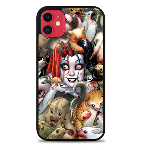 Harley Quinn Textless Z0242 iPhone 11 Pro Max Case