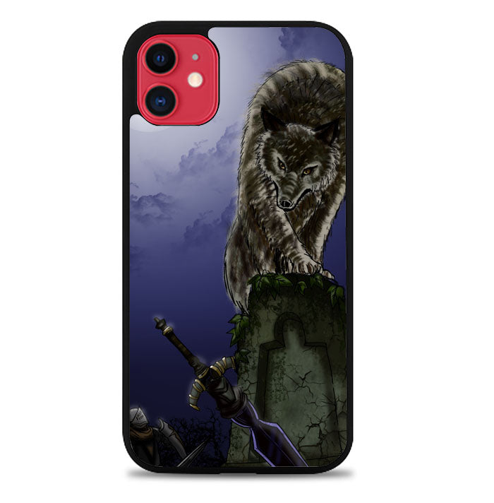great grey wolf sif puppy Z0311 iPhone 11 Pro Max Case