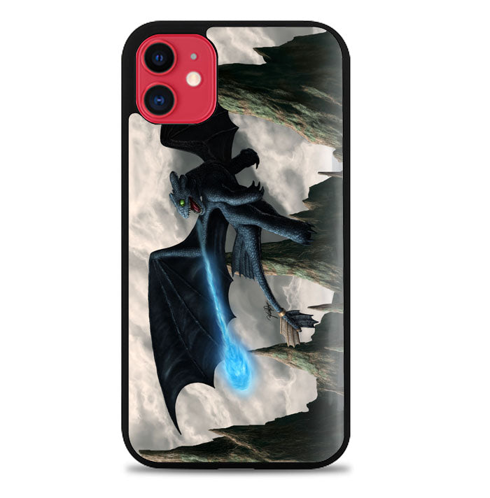 How To Train Your Dragon Night Fury Toothless Z0965 iPhone 11 Pro Max Case