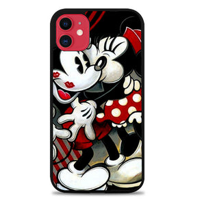 Hugs and Kisses  Mickey Minnie mouse Z1557 iPhone 11 Pro Max Case
