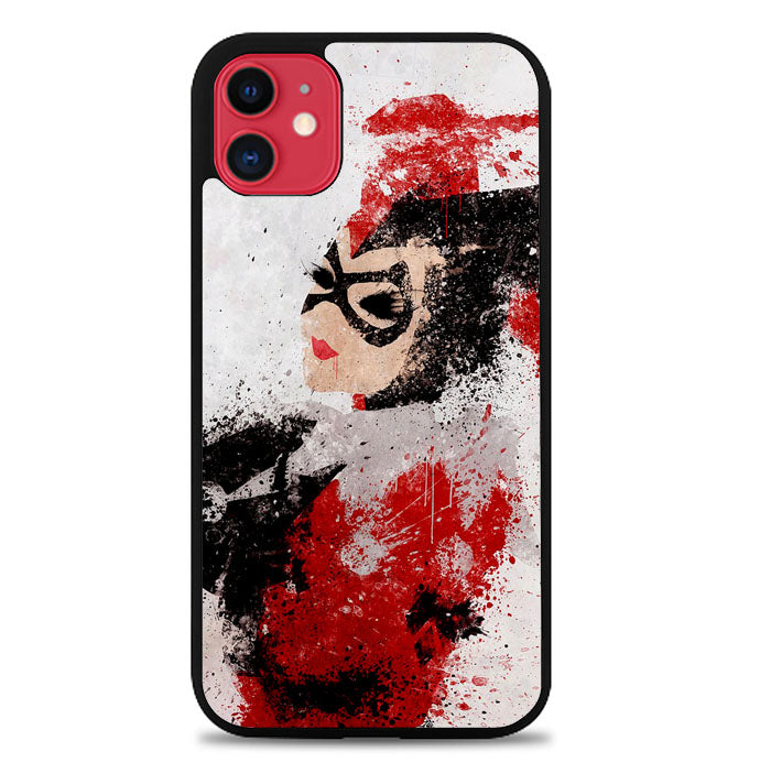 harley quinn painting Z1686 iPhone 11 Pro Max Case