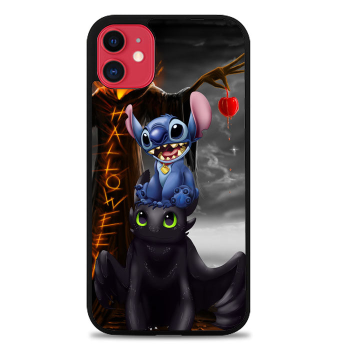 Stitch Toothless dragon Z2587 iPhone 11 Pro Max Case