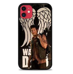 The Walking Dead Daryl Dixon Wings Z2791 iPhone 11 Pro Max Case