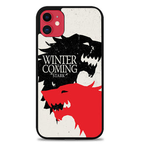 Game Of Thrones Stark Winter Is Coming Z2949 iPhone 11 Pro Max Case