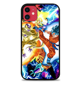 dragon ball super saiyan god Z3160 iPhone 11 Pro Max Case