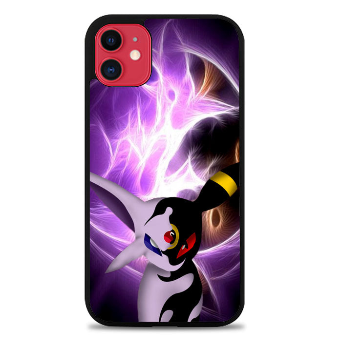 umbreon and espeon face Z3864 iPhone 11 Pro Max Case
