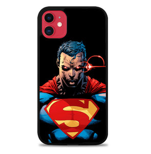 superman red eyes Z4093 iPhone 11 Pro Max Case