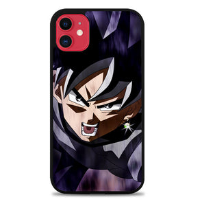 black goku dragon ball super Z4118 iPhone 11 Pro Max Case