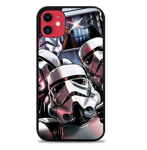 Star Wars Stormtrooper Selfie Z4205 iPhone 11 Pro Max Case