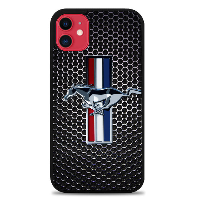 FORD MUSTANG CARBON FIBER Z4267 iPhone 11 Pro Max Case