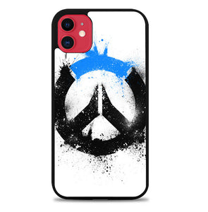 OVERWATCH LOGO BLACK BLUE Z4577 iPhone 11 Pro Max Case