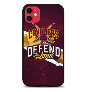 Defend The Land Cavaliers Playoff Z4806 iPhone 11 Pro Max Case