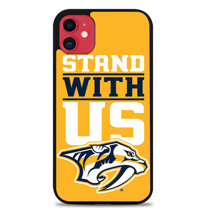 nashville predators stand with us Z4786 iPhone 11 Pro Max Case