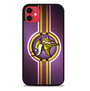 Minnesota Vikings logo Z5026 iPhone 11 Pro Max Case