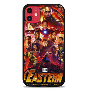 The NBA Avengers NBA MOVIE STAR CrossOver Z4462 iPhone 11 Pro Max Case