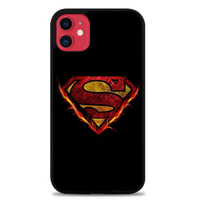 Superman Fire Z4904 iPhone 11 Pro Max Case