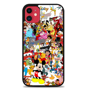 Disney Cartoon Characters F0361 iPhone 11 Pro Max Case