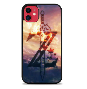 Logo Zelda Breath of the Wild FJ0501 iPhone 11 Pro Max Case