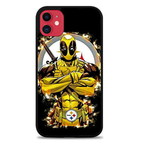 Pittsburgh Steelers deadpool FJ0534 iPhone 11 Pro Max Case