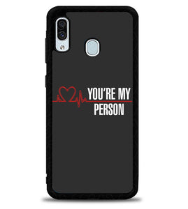 Youre My Person X4801 Samsung Galaxy A20 Case