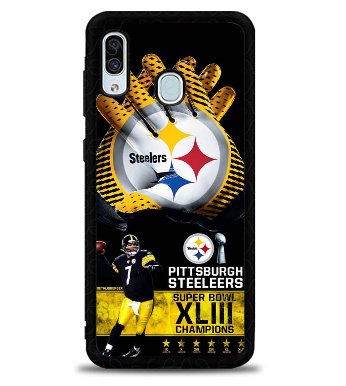 Pittsburgh Steelers NFL X4840 Samsung Galaxy A20 Case